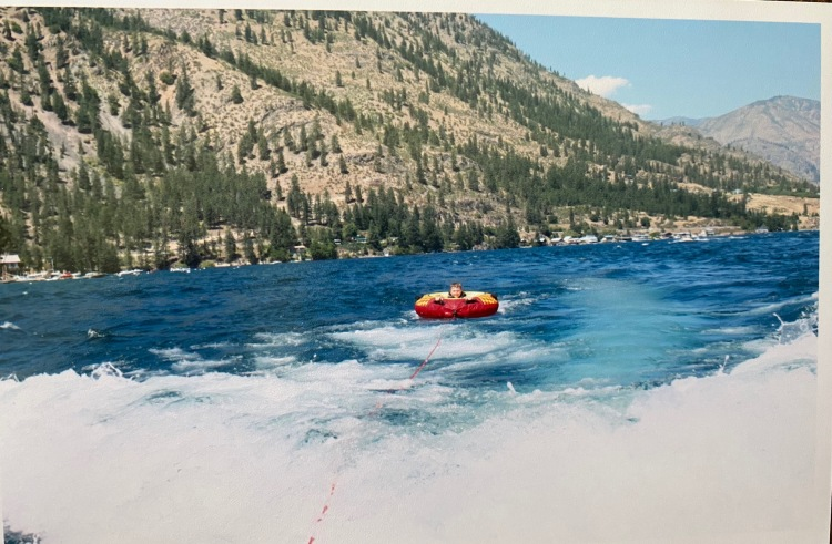 Tubing at Lake Chelan