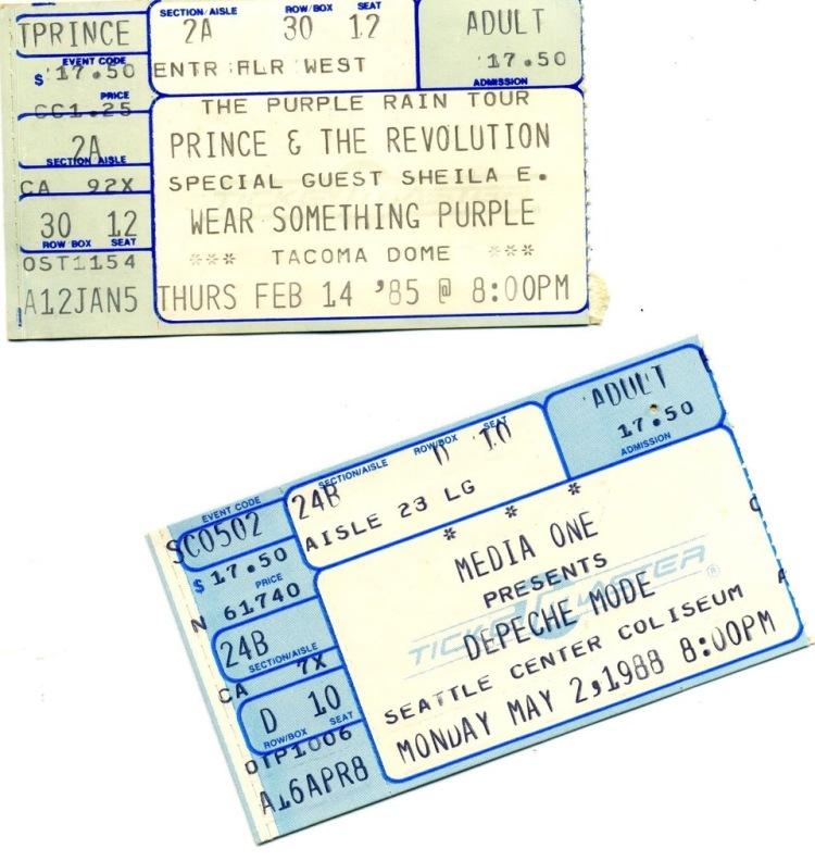Lori's concert tickets