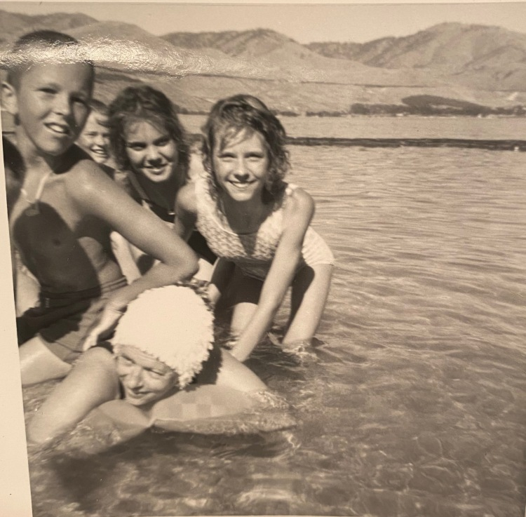 Kathy at Lake Chelan 1964