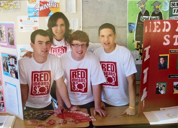 Mount Vernon High School Red Means Stop PR Campaign
